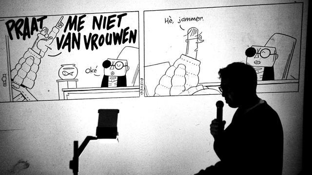 Tekenaar strip Sigmund doet soms tien jaar over een grap