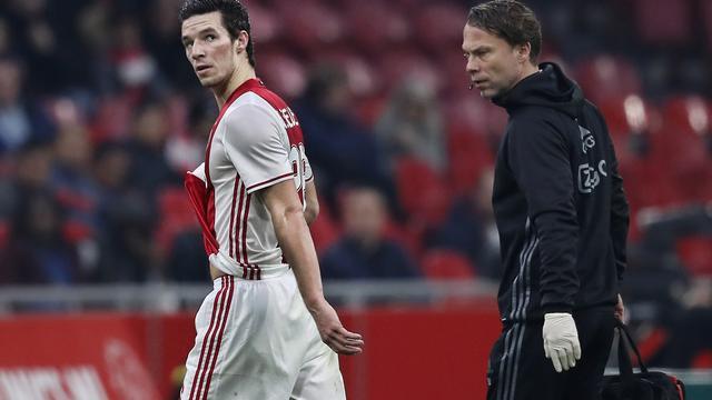 Ajax zonder Viergever en met Sinkgraven, PSV mist Van Ginkel