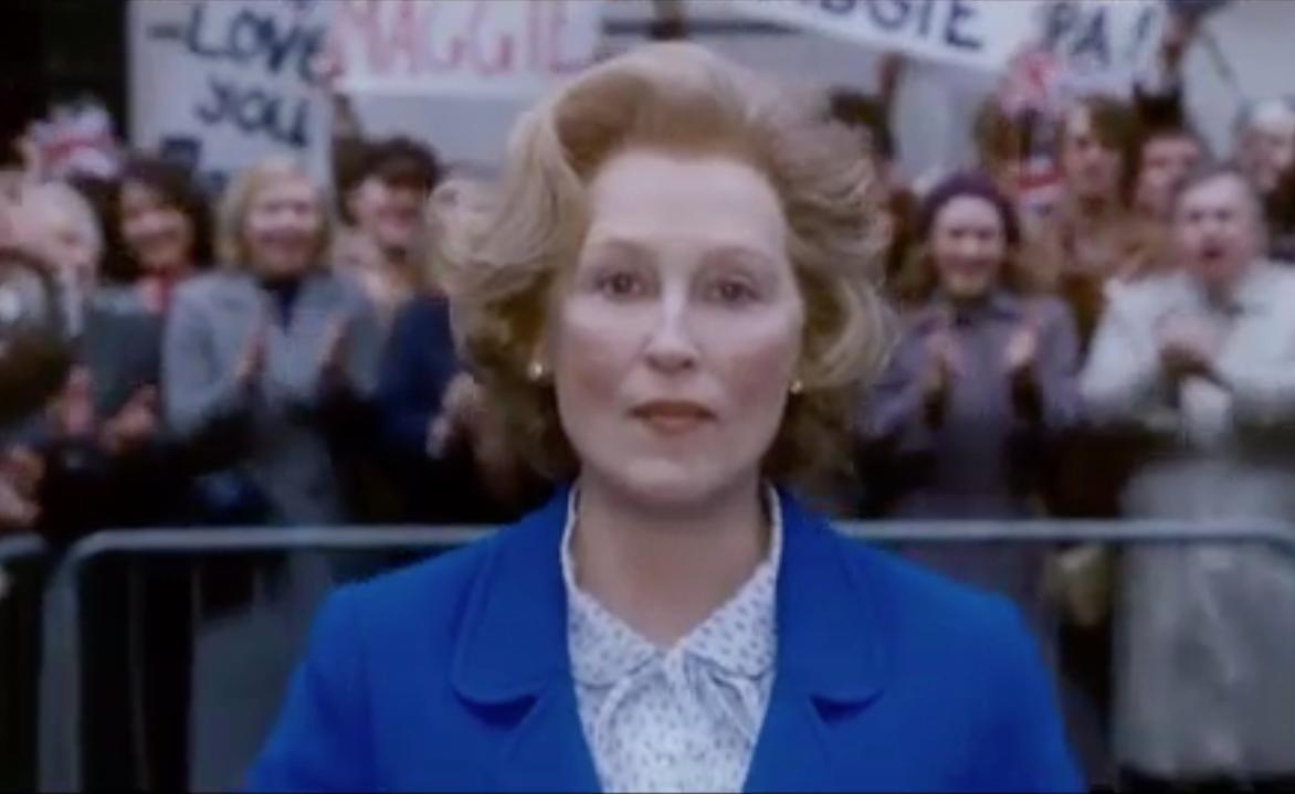 Meryl Streep speelt Margaret Thatcher in The Iron Lady