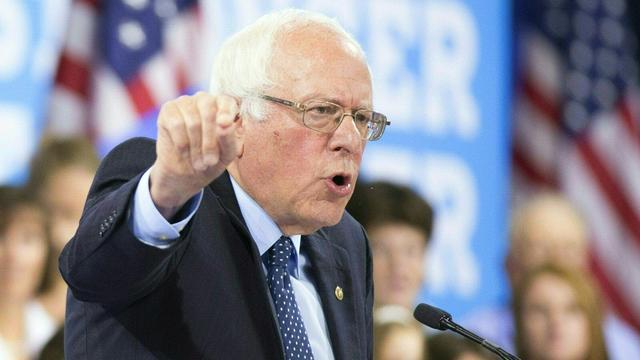 Bernie Sanders begint verkiezingsprogramma tegen 'gevaarlijke Trump'