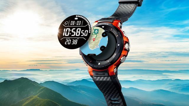 Casio presenteert stevige smartwatch voor buiten