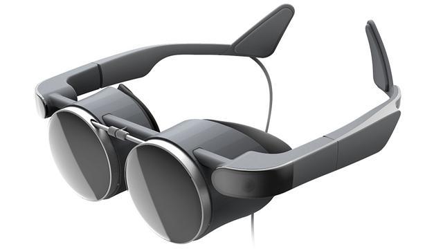 Panasonic toonde een compacte VR-bril.