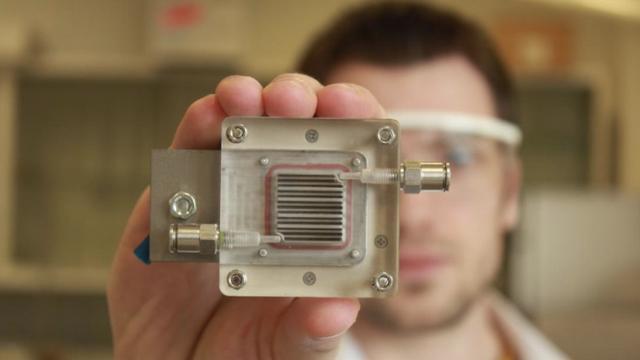 Belgische wetenschappers zetten vervuilde lucht om in energie
