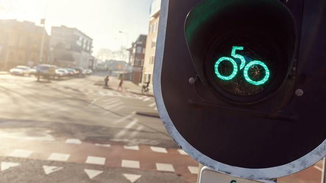 Groningse fietsstoplichten krijgen allemaal 050-logo