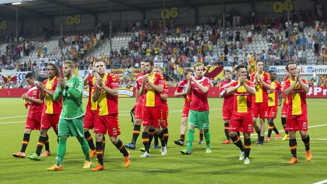 Brink in Deventer vol Eagles-supporters voor Europees uitduel
