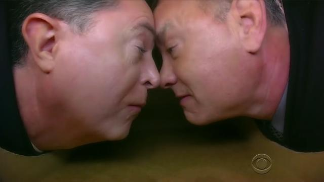 Tom Hanks en Stephen Colbert delen intiem moment tijdens talkshow