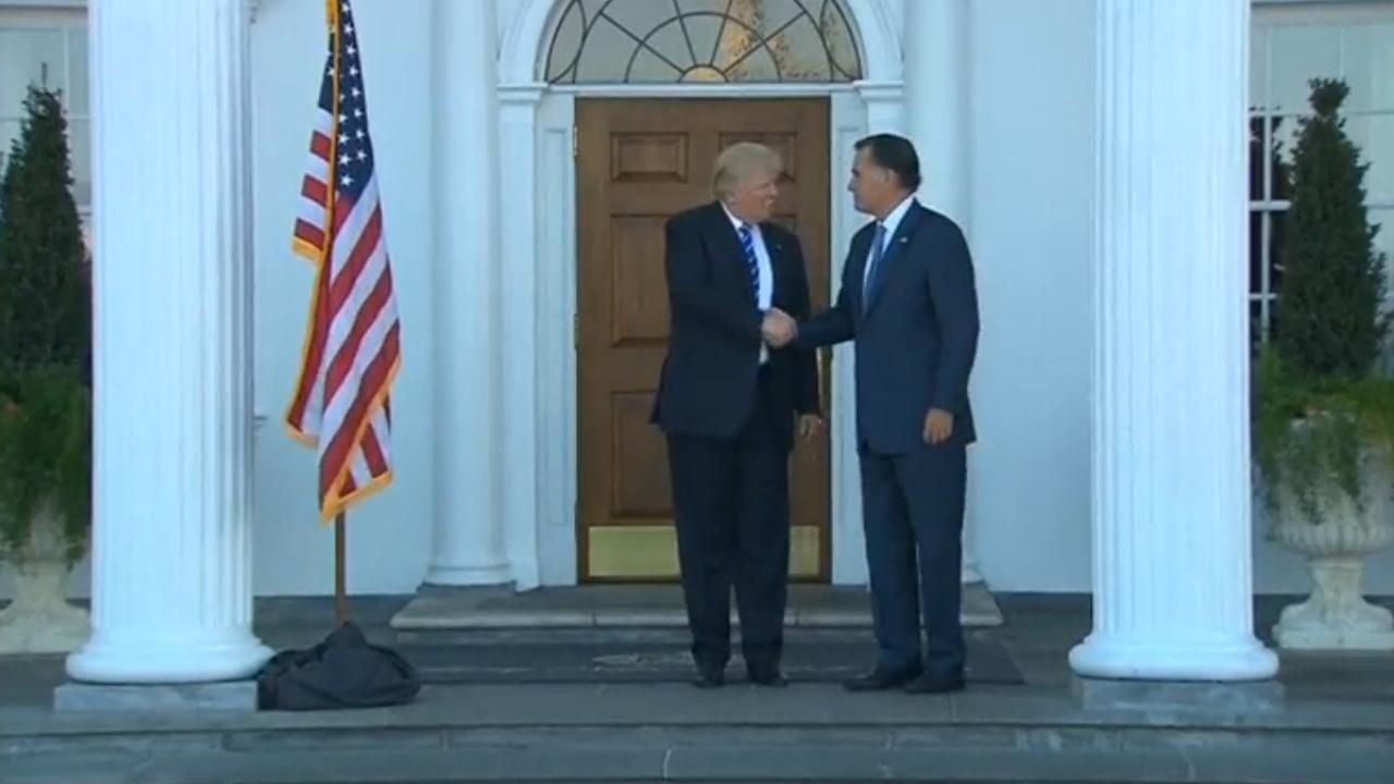 Gesprek Donald Trump en Mitt Romney ging 'geweldig'