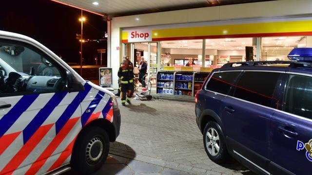 Inbreker opgepakt na inbraak tankstation aan de Plesmanlaan