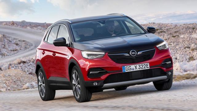 Opel Grandland X nu ook als plug-inhybride