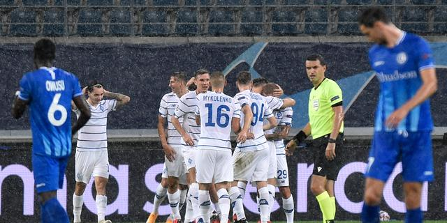 Dynamo Kiev wint na uitschakeling AZ ook bij Gent in heenduel play-offs CL