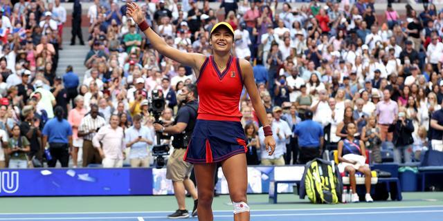 Raducanu na US Open-titel: 'Heb bewezen dat iedereen Grand Slam kan winnen'