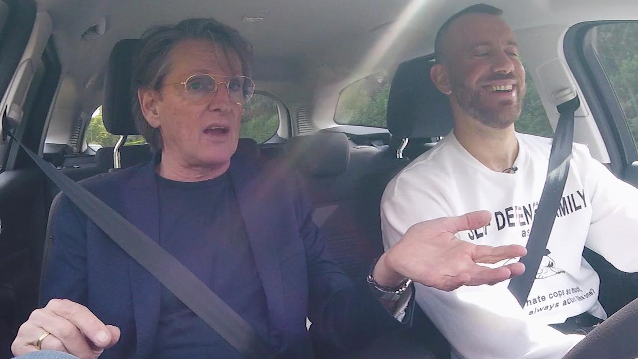 In de auto met Erik de Zwart: 'Ik was net zo populair als Justin Bieber'