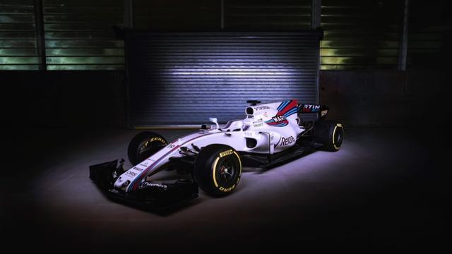 Williams verrast met haaienvin op auto voor nieuw Formule 1-seizoen