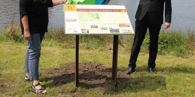 NIeuwe wandelroute door Meerstad, Middelbert en Engelbert