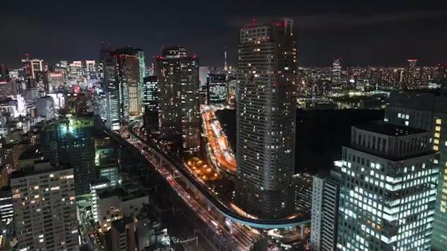 Bekijk het drukke leven in Tokio in deze indrukwekkende timelapse