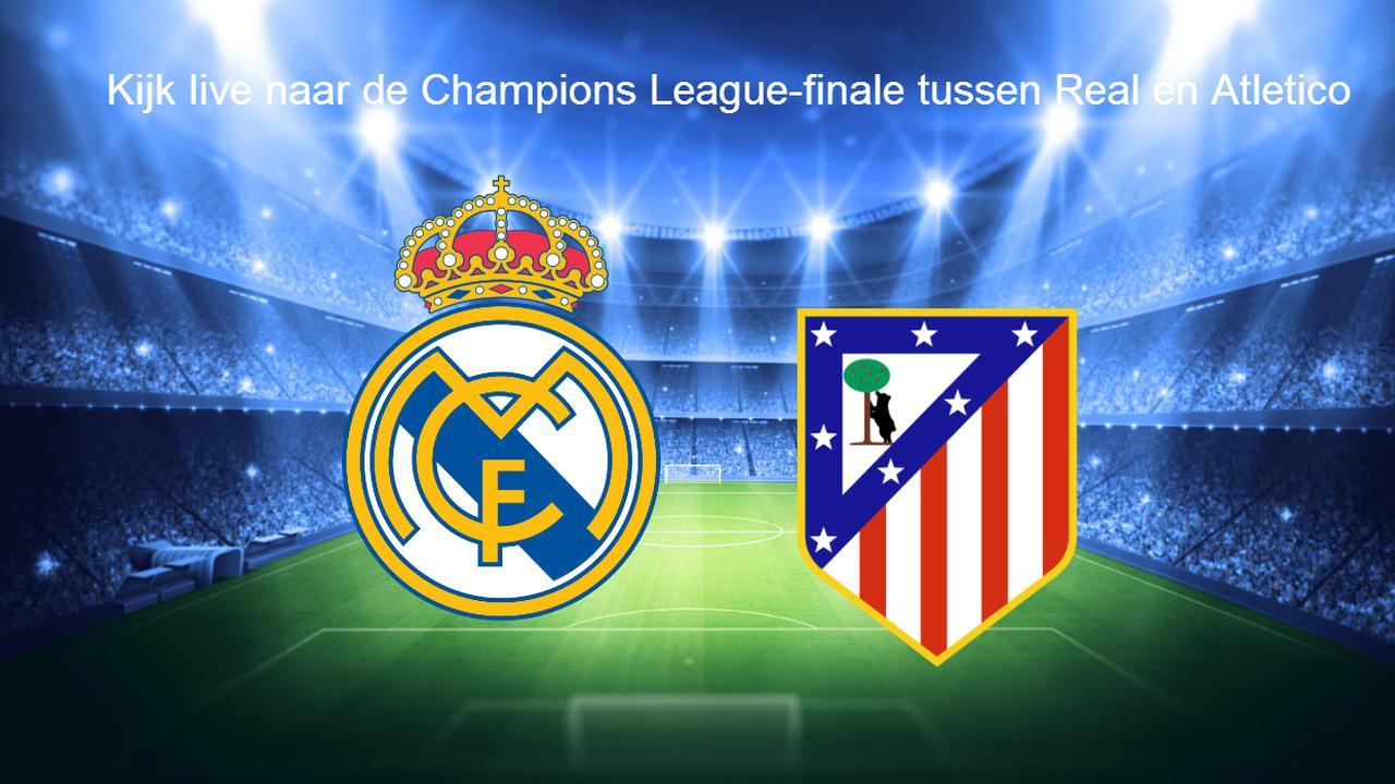 Kijk hier live naar de nabeschouwing van Real Madrid-Atletico Madrid