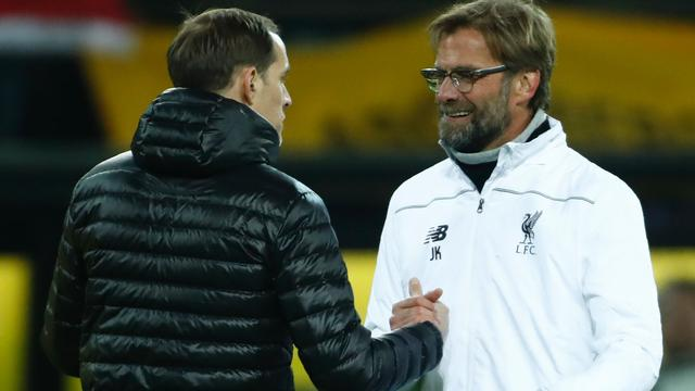 Dortmund thuis niet langs Liverpool in kwartfinale Europa League
