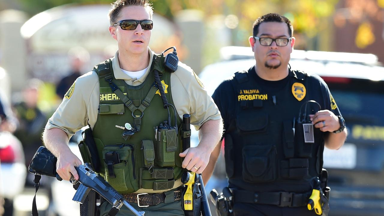Beelden schietpartij San Bernardino
