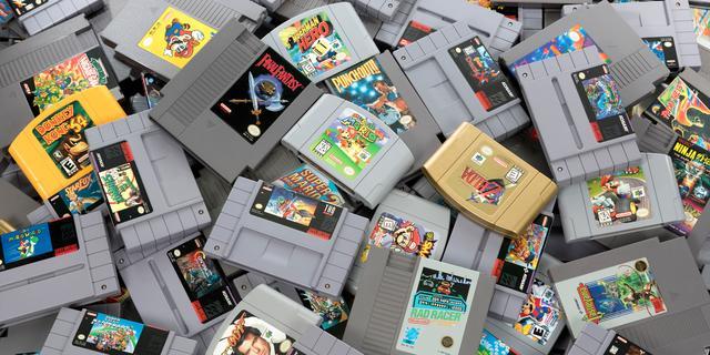 'Nintendo is bezig met meer retrospellen voor Nintendo Switch Online'
