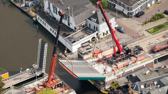 Julianabrug in Alphen aan den Rijn geopend voor verkeer