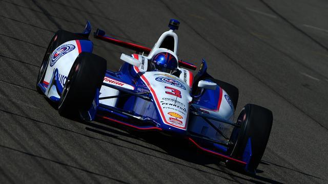 Spectaculaire crash in voorbereiding op Indy 500