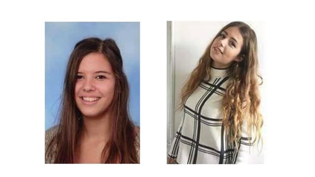 Vermiste Brabantse meisjes stapten uit eigen beweging op vliegtuig