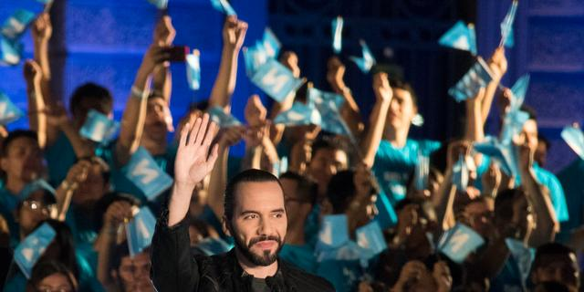 Nayib Bukele claimt winst presidentsverkiezingen in El Salvador