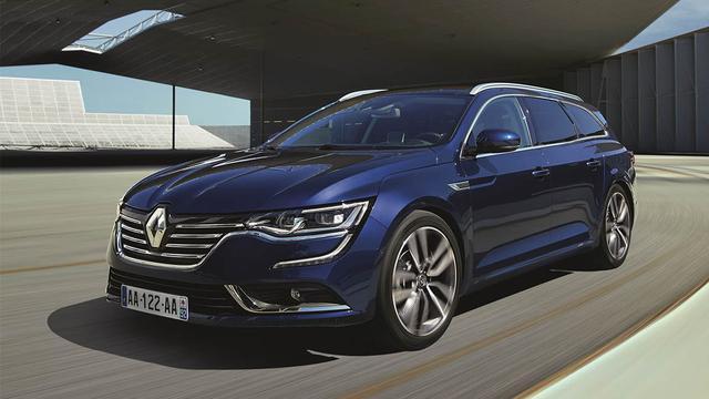 Renault onthult Talisman Estate