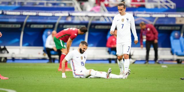 Benzema op tijd fit voor EK-duel van Frankrijk met Duitsland