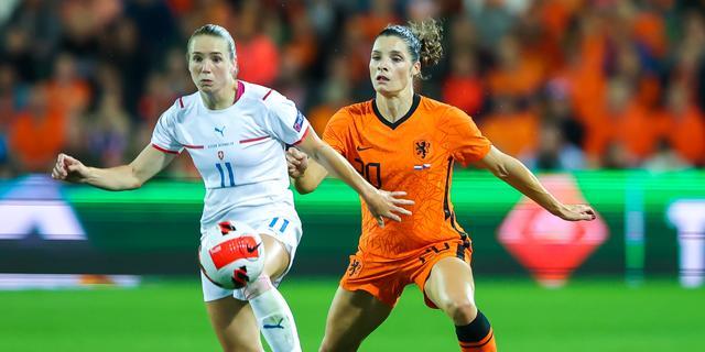 Lees alles over gelijkspel Oranjevrouwen tegen Tsjechië