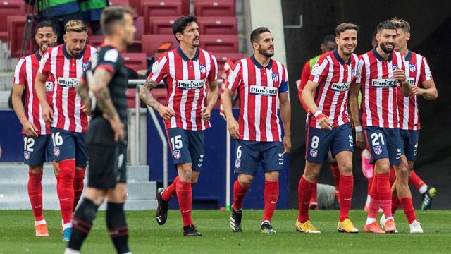 Atlético Madrid had weinig problemen met Eibar.