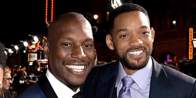 'Tyrese Gibson kreeg miljoenen van Will Smith en Jada Pinkett-Smith'
