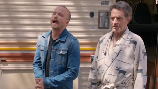 Bryan Cranston 'woont' in drugscamper Breaking Bad