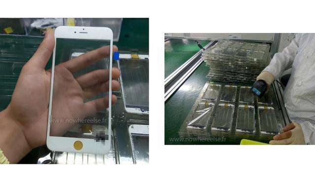 'Voorkant iPhone 6S op gelekte foto's te zien'