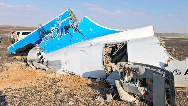 'Bom in bagageruim oorzaak neerstorten Russisch toestel in Sinaï'