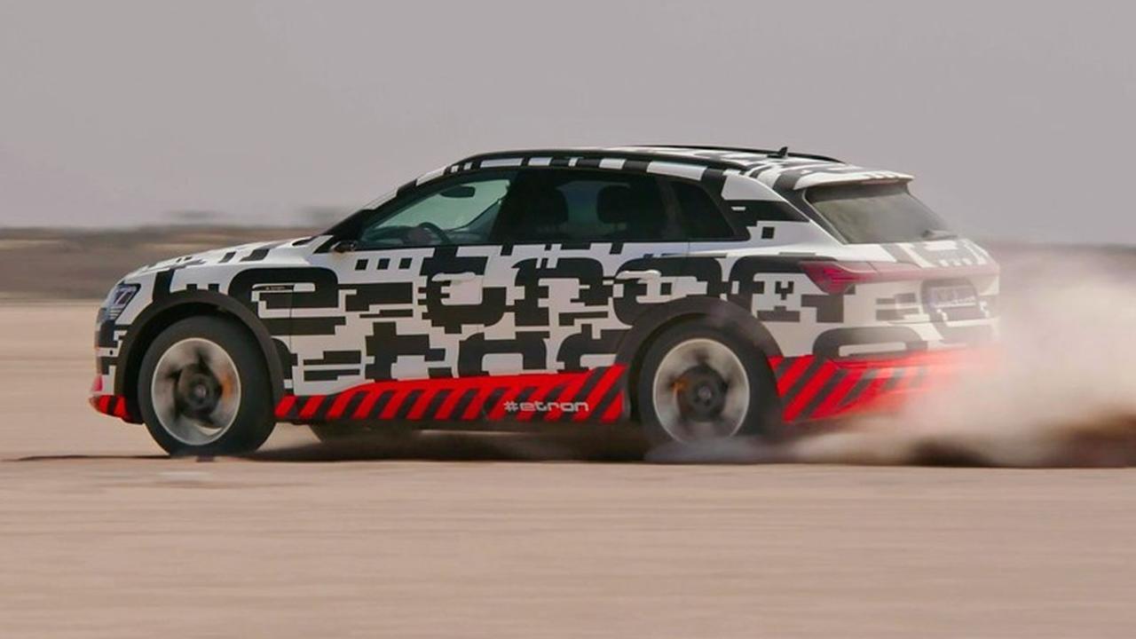 Eerste rijtest: De volledig elektrische Audi e-tron gaat offroad
