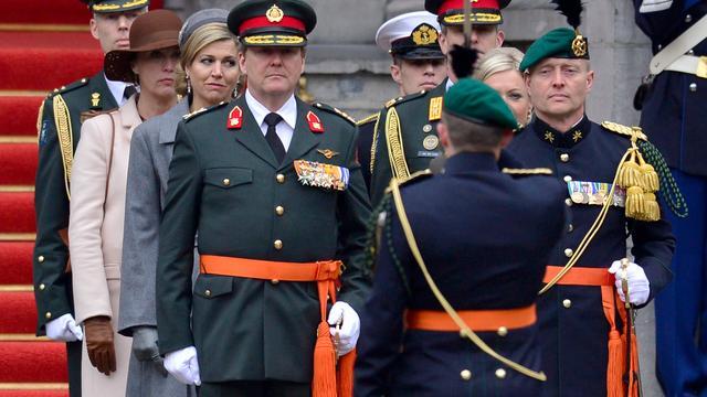 Commando's onderscheiden met Militaire Willems-Orde