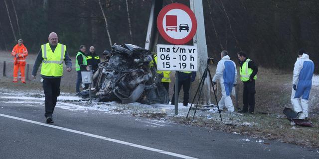 A59 richting Oss weer open na ongeluk met drie doden bij Rosmalen
