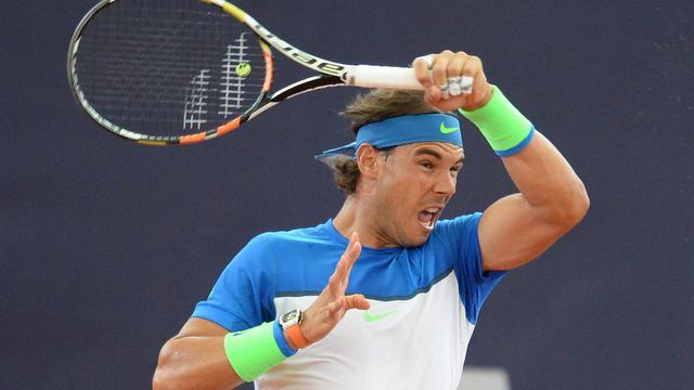 Nadal bereikt halve finales in Hamburg na winst tegen Cuevas