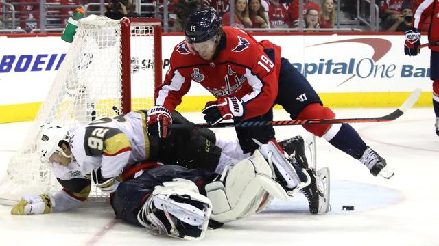 Washington Capitals op voorsprong in NHL-finale tegen Golden Knights