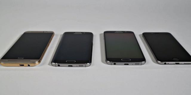 Duurtest: Hoe zijn de iPhone 6, Galaxy S6 en One M9 na een half jaar?