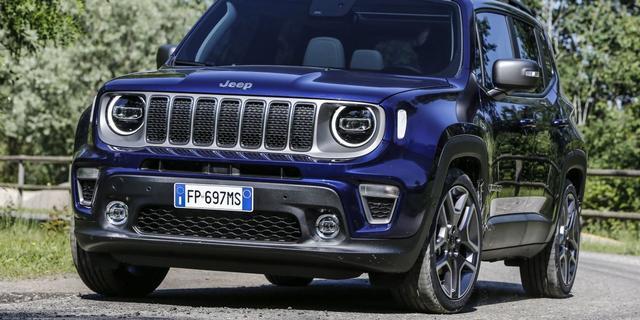 Nieuwe motoren Fiat Chrysler debuteren in vernieuwde Jeep Renegade