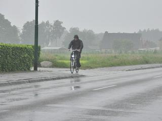 Wateroverlast rond regio Rotterdam