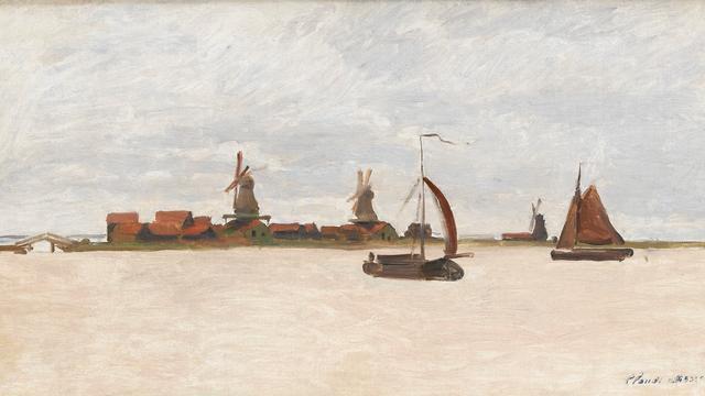 Schilderij Monet duurste aankoop ooit voor Zaans Museum