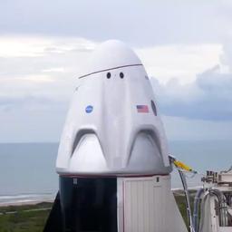 Video | Eerste bemande vlucht SpaceX op laatste moment verplaatst