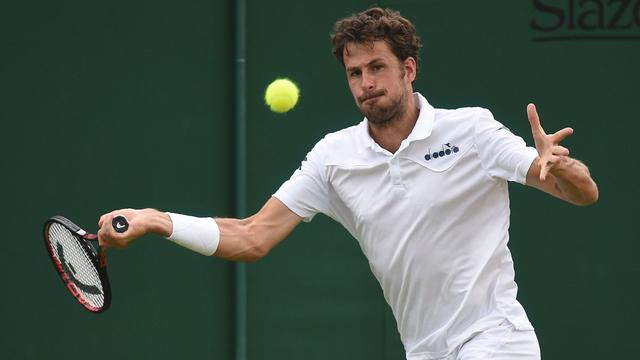 Haase buigt in drie sets voor Kyrgios in tweede ronde Wimbledon