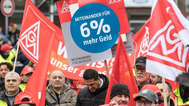 Akkoord arbeidsvoorwaarden Duitse metaalsector