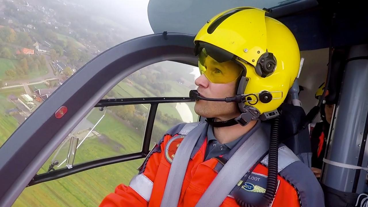 Dit doet de bemanning van een traumahelikopter