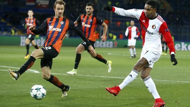 Samenvatting Shakhtar Donetsk-Feyenoord (3-1)