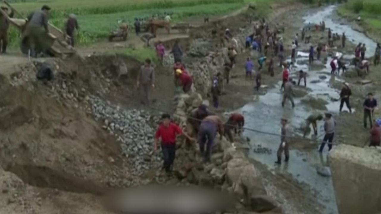 Honderden doden in Noord-Korea door zware overstromingen